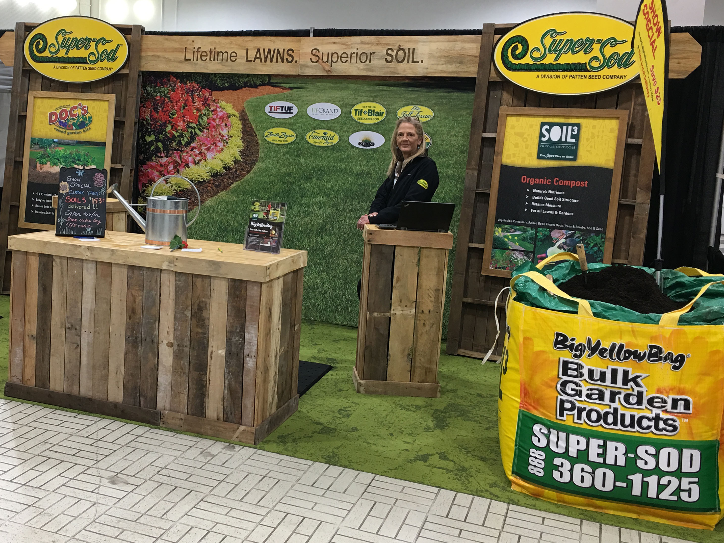 Super-Sod to Attend Athens Home Show with Stylish New Booth