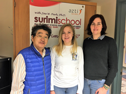 (Left to Right) Dr. Jae Park, Kaitlin Junes and Angee Hunt