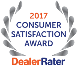 2017 Dealer Rater Consumer Satisfaction Award for South Dade Toyota