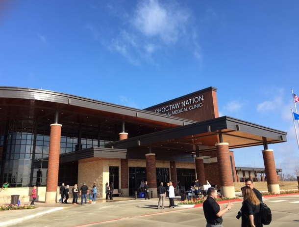 Robins Amp Morton Celebrates Grand Opening At Choctaw Nation