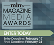 min Counts Down to Final Entry Deadline for Annual Magazine Media Awards