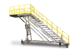 Spika's RangerMax Series Work Platform provides extreme cantilever access with up to 10 feet of height adjustability