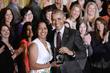 Jahana Hayes with President Barack Obama