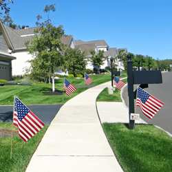 The Flag Company, Inc.'s unbeatable Farming Flag, simple and effective marketing