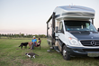 Space for pets is one Class C RV feature that appeals to Millennial buyers.