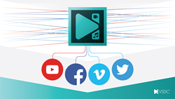 VSDC Video Editor 5 7 5 Easy Export to Social Networks and