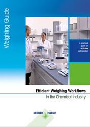 Efficient Weighing Workflows
