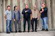 Jimmy D Robinson & Flock of Seagulls at H.O.B. - L to R: Lucio Rubino, Joe Rodriguez, Jimmy D Robinson, Mike Score, Kevin Rankin. (Photo by Gerardo Mora/Getty Images)
