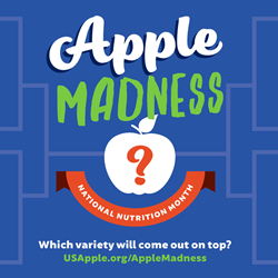 apple madness graphic