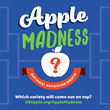 32 All-Star Apple Varieties Tip Off for USApple's 'Apple Madness' Tournament