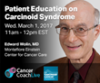 The Carcinoid Cancer Foundation and PlatformQ Health to Host Live, Online Education on Carcinoid Syndrome
