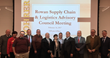 Founding members of the new Supply Chain & Logistics Advisory Council in Rowan University's William G. Rohrer College of Business.