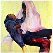 Nationally Acclaimed Visual Artist Shanequa Gay Brings the Plight of Black Men to Canvas