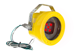 Low Voltage Explosion Proof Red Forklift LED Warning Spotlight