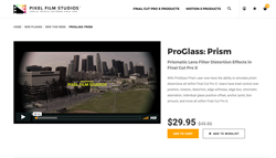 ProGlass Prism - Final Cut Pro X Plugins - Apple FCPX