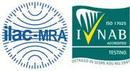 ISO/IEC 17025:2005 INAB accredited testing laboratory Reg. no. 284T