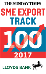 Sunday Times Lloyds SME Export Track 100 League Table.