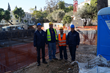 All clear: The PENETRON technical support team at the American School of Classical Studies Athens construction site (far right: Theodor Mentzikofakis, General Director of PENETRON Hellas).
