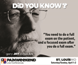 A Weekend of Pain Management CE/CME: St. Louis PAINWeekEnd Conference April 1 and 2