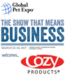 Cozy Products® Releases Latest Radiant Heat Panels at Global Pet Expo 2017