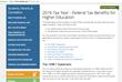 NASFAA's 2016 Higher Education Tax Benefit Guide Can Help During Tax Season