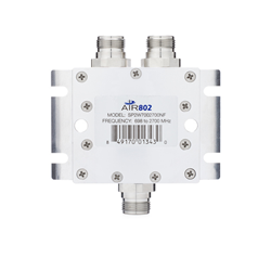 2-Way Divider / Combiner / Splitter Tower or Wall Mountable, 698-2700 MHz, Low PIM