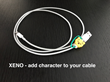 XENO add character to your cables