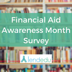 financial aid awareness month survey