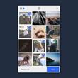 Filestack mobile upload widget dialog - upload from Instagram