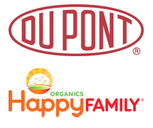 DuPont and Happy Family Logos
