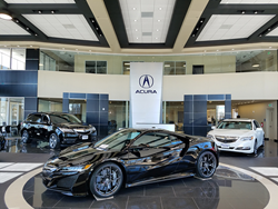 Tischer Acura Showroom