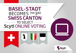 Basel-Stadt Selects Scytl Technology for Secure and Verifiable Online Voting