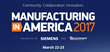 Patti Engineering Will Attend Manufacturing in America Conference in Detroit, Sharing Siemens Integration Expertise March 22-23, 2017