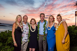 L-R: Kathy J. Christiansen, R(B), 2016 Top Producer; Adam F. Atwood, R(S), 2016 Top Producer & Most Significant Sale; Rebecca Keliihoomalu, R(B), 2016 Company-wide Top Producer; Jon Meschke, Vice President, Affiliate Services – Pacific Region U.S./Western