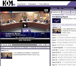 hands free video streaming for government, closed captioning on demand