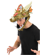dragon costume plush hat gender neutral toy headwear fits kids and adults