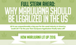 Drug Testing Advisor Testclear Creates Insightful New Infographic on Why Marijuana Should be Made Legal in the United States