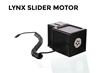 The Slider Motor moves precisely, can attach to the slider in seconds and can lift up to 10 pounds vertically. The Slider Motor's sound isolation design enables whisper quiet operation.