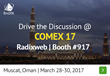 Radixweb is Set to Hit a Hat Trick at COMEX