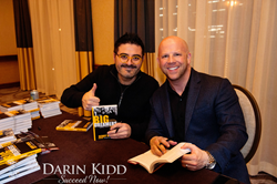 Darin Kidd on Big Dreamers Book tour