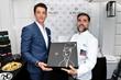 Miles Teller with Michelin Star Chef Fillipo Sinisgalli at Il Palato