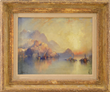Thomas Moran's A Hillside Village at Sunset Realized $51,425.