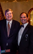 Memphis Mayor Jim Strickland with ARS/Rescue Rooter Co-CEO Dave Slott