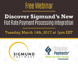 Singular Payments Announces New Integration with Sigmund Software