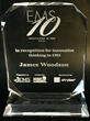 Pulsara Founder and CEO, James Woodson, MD, wins EMS10 Innovator Award