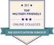SR Education Group Releases 2017 Rankings of Military-Friendly Online Colleges