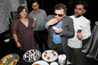 Hidden Figures Actors Cullen Moss (center) and Kurt Krause (left rear) with girlfriend, Emily Catherine tasted all the food prepared by Chef Sinisgalli.