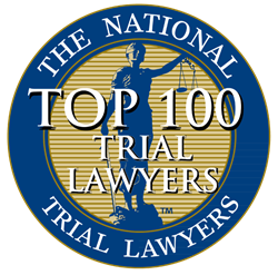 Top 100 Trial Lawyers Award Logo