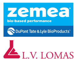 DuPont Tate & Lyle Bio Products and L. V. Lomas Logos