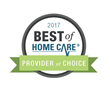 BrightStar Care Round Rock/Georgetown Receives 2017 Best of Home Care® – Provider of Choice Award